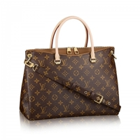 LV M40907 Louis Vuitton 路易·威登 女士Pallas系列草原色手袋1560